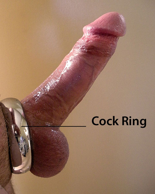 cock ring used with a penis pump