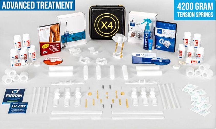 straighten your penis X4 labs